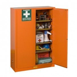 Justrite-Emergency-Cabinet-Orange-860001